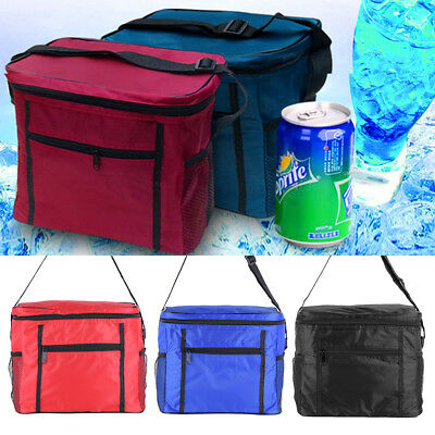 Foldable Insulated Thermal Cooler Lunch Box Tote Picnic Storage Bag Pouch DY