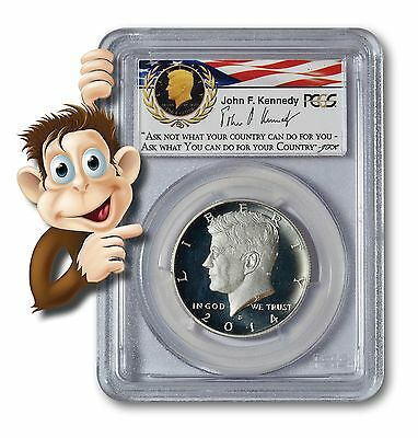 2014-S Enhanced Silver Kennedy Half PCGS MS70 - 50th Anniversary First Strike