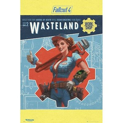 Fallout 4 Wasteland Poster