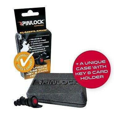 Pinlock Earplugs Hearing Protectors Twin Pack of Ear Plugs Medium & Large