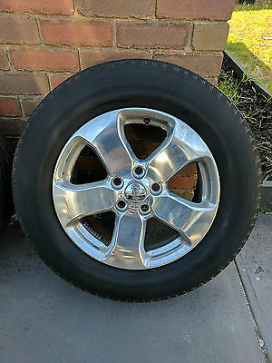 Jeep Grand Cherokee 2011 and above Genuine 18 inch Wheels Rims