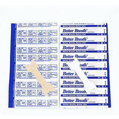 Plaster- strips for snoring, Flu, Cold, Congestion- Better Breath- Really Works!
