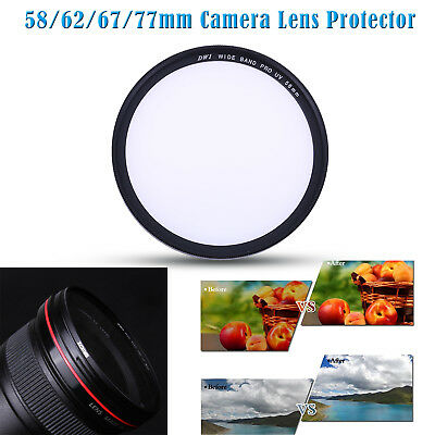 Zomei 58-77mm Ultra Slim UV Optical Filter Lens Protector for Sony Canon Nikon