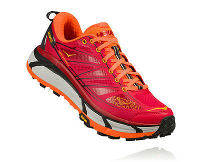 Hoka M Mafate Speed 2 Men's TRAIL Running Rosse Scarpe Uomo Scarpa Sterrato