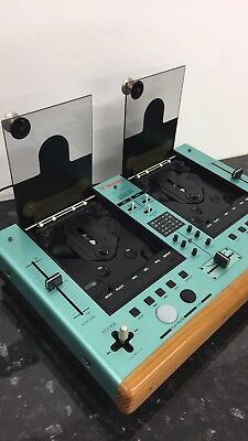 Vestax CDX-12 Retro Vintage Dual CD Mixer All In One Wooden 80s