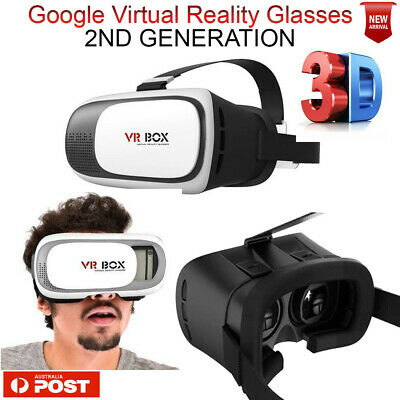 VR BOX 3D Virtual High Reality Glasses Goggles Headset Bluetooth Remote Gamepad.
