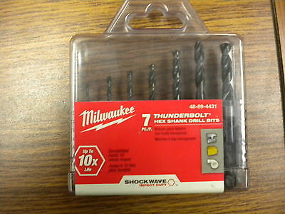 Milwaukee Hex Shank Drill Bit Set 48-89-4431
