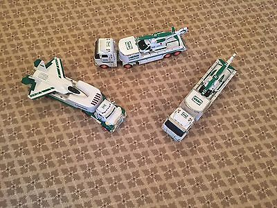 3 Hess  Toy Trucks 1Airplane and 2 Helicopters Excellent Condition • $25.00