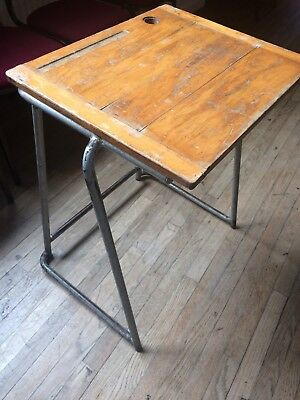 1960's Old School Desks