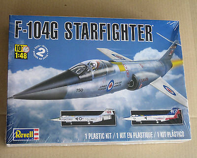 F-104G STARFIGHTER model 1:48 plastic kit REVELL (new, some wear to box)