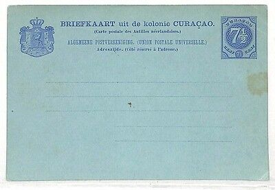 UU490 Curacao Blank Unused Postcard {samwells-covers}