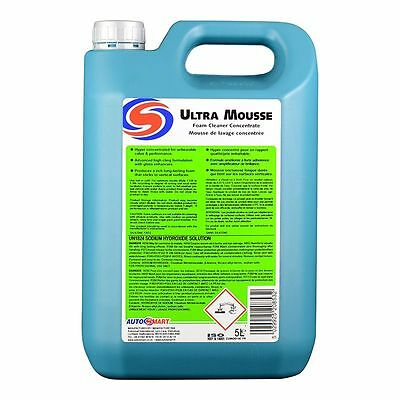 Ultra Mousse Foam Cleaner Concentrate 5ltr