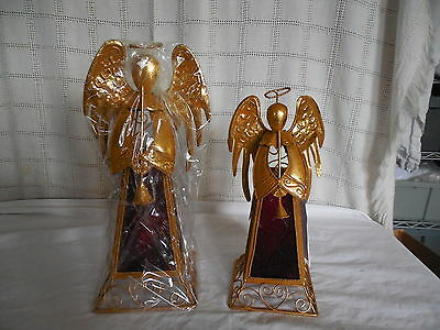 home interiors set of 3 gold angels cherubs wall hanging plaques
