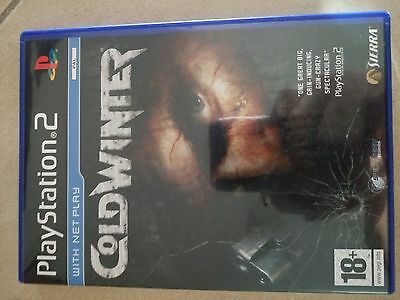 COLD WINTER ps2 playstation 2
