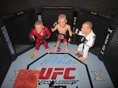 George St-Pierre Autographed Octagon