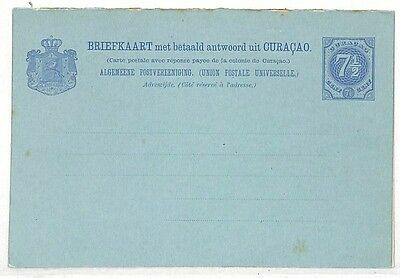 UU492 Curacao Blank Unused Postcard {samwells-covers}