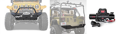 Body Armor 14pc Offroad Conversion Kit With Warn 10k Lb Winch For