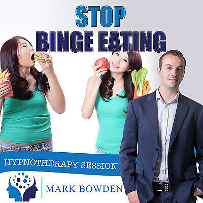 BINGE EATING HYPNOTHERAPY CD (with Free MP3 Version)  Mark Bowden - weight loss