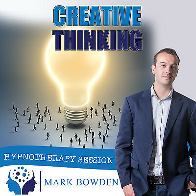 CREATIVE THINKING HYPNOTHERAPY CD (with Free MP3 Version)  Mark Bowden