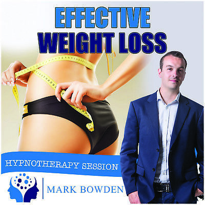 EFFECTIVE WEIGHT LOSS HYPNOTHERAPY CD (with Free MP3 Version)  Mark Bowden