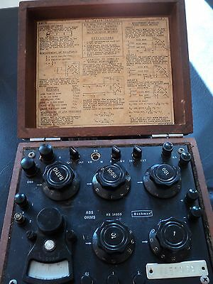 Galvanometer, Vintage Collectible KS 14959 Test Kit, Early Bell System