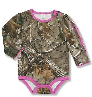 Carhartt Baby Girl Realtree Camo - 6m, 9m, 12m and 18m