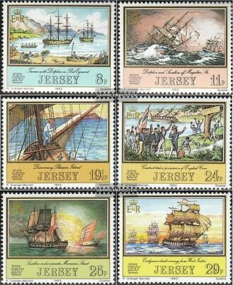 united kingdom-Jersey 293-298 (complete issue) unmounted mint / never hinged 198