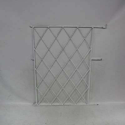 A Quantity of Metal Square Bar Window Security Grilles in Various Sizes