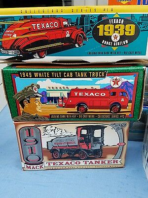 Hess, Texaco, Sunoco, Trucks Tankers Collection Lot Of 10-- Super Cheap Must Own