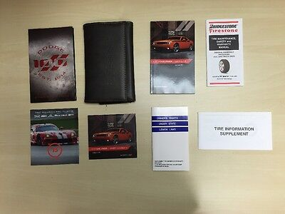 Dodge Challenger 2014 Owners Manual Books/  In Case/DVD / Free Shipping