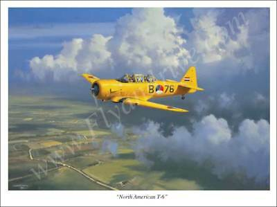 Affiche North American T6