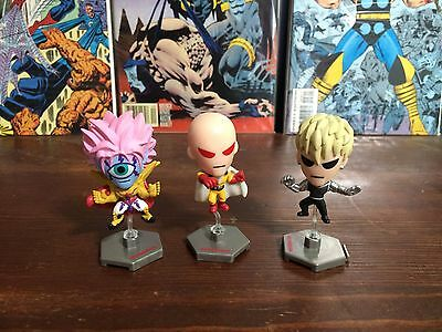 One Punch Man Lot of 3.. 2 inch • $1.00