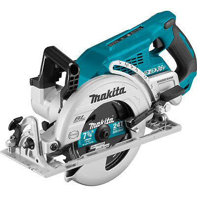 Makita XSR01PT (36V) Brushless Cordless Rear Handle 7-1/4-Inch Circular Saw Kit