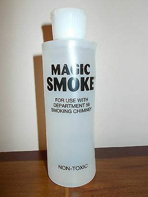 Dept 56 Magic Smoke Full Size 6 Oz Bottle For Dept 56 Smoking Chimney Free Ship