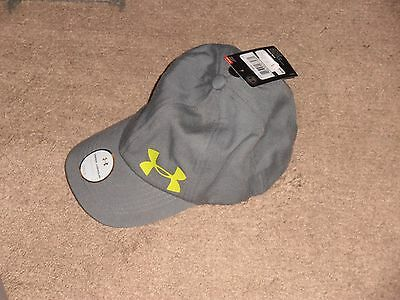 Under Armour UA Storm Big Logo Girl's Gray Cap with Adjustable Strap NEW TAGS!!