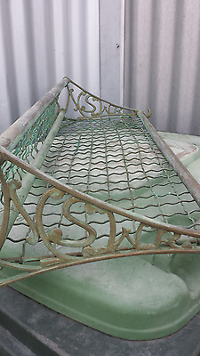 Vintage Brass NSWR  Railway Luggage Rack