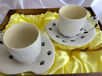 💥🐶 Dog Style Tea Set 🐶💥 Dog Lovers Present 🎁