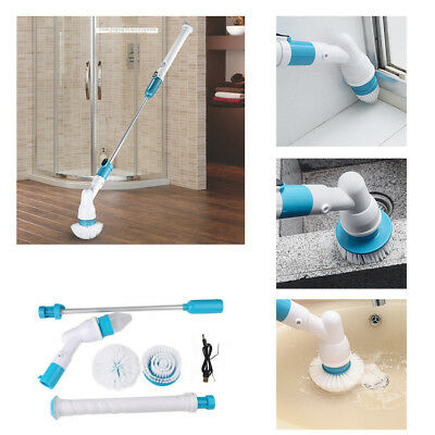 Usb Cable Cordless Handheld Cleaning Brush Turbo Cleaner Fast Spin Scrubber 360