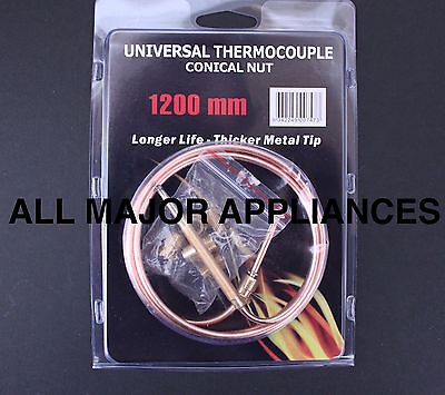 Universal Gas Appliance Oven Heater Cooker Thermocouple Kit 1200Mm Long