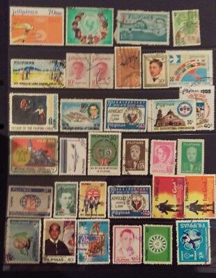 Philippines Stamp Selection used L9