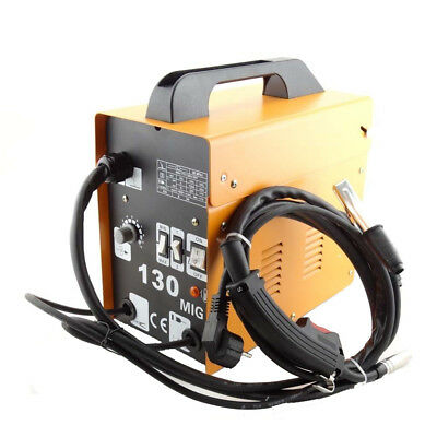 Gasless MIG 130 Welder Fortable Welding Machine No Gas Flux Core Wire Feed 230V