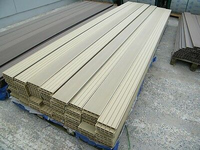 4m wpc wood plastic composite hollow decking board coffee for The range decking boards
