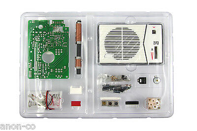 Tecsun 2P3 Superheterodyne AM Radio Receiver DIY Kit  << BLACK >>