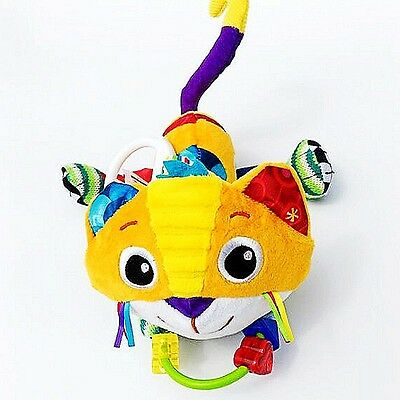 Infant Baby Toddler Kid Child Rattle Jingle Teether Texture Sensory Activity Toy