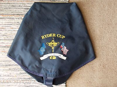 2010 Ryder Cup Bag Cover Given To Members Of European And Usa Teams - Very Rare