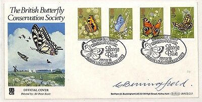 CC20 1981 British Butterfly Conservation Society Loughborough {samwells-covers}
