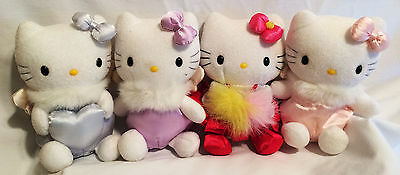 1999 Hello Kitty Sanrio 3 Angels and a Cheering Squad Plush (4) No Tags