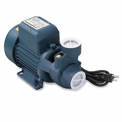 "1HP Clear Water Pump - 792 GPH Electric 1-1/2"" Inlet Pipe for Pool Pond Cleaning"