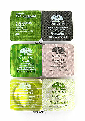 Origins Travel Size Mask Pods 10Ml - Various Options See Dropdown Menu