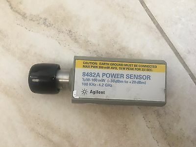 Keysight Agilent HP 8482A 100K - 4.2 GHz -30 - +20dBm Power Sensor